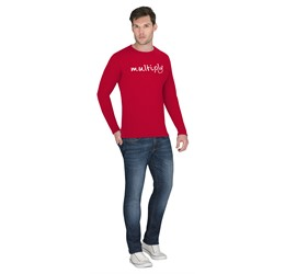 Mens Long Sleeve Portland TShirt