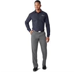 Mens Cambridge Flat Front Pants  Grey Only