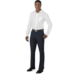 Mens Cambridge Flat Front Pants  Navy Only