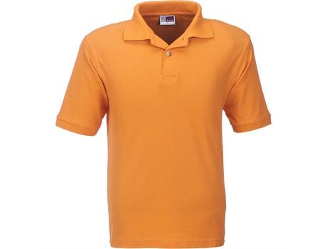 US Basic Mens Boston Golf Shirt in Orange Code BAS-803