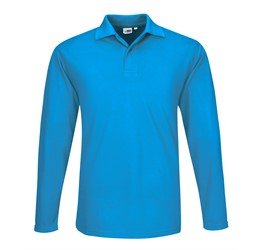 Golfers - US Basic Mens Long Sleeve Elemental Golf Shirt
