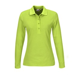 Golfers - Ladies Long Sleeve Elemental Golf Shirt