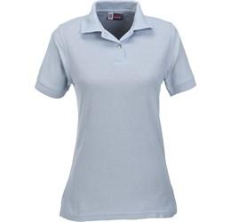 Ladies Boston Golf Shirt  Ocean Blue Only