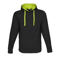 Mens Solo Hooded Sweater  Lime Only