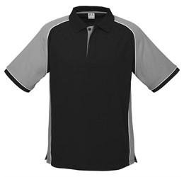 Golfers - Mens Nitro Golf Shirt  Grey Only