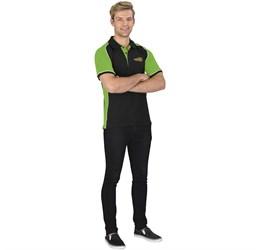 Golfers - Mens Nitro Golf Shirt  Lime Only