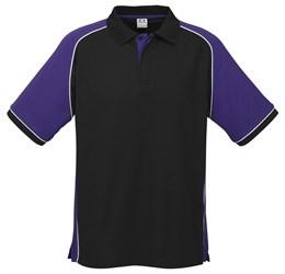 Golfers - Mens Nitro Golf Shirt  Purple Only