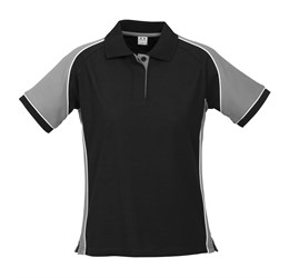 Golfers - Ladies Nitro Golf Shirt  Grey Only