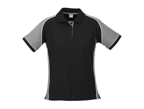 Biz Collection Ladies Nitro Golf Shirt in grey Code BIZ-3601