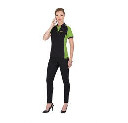 Golfers - Ladies Nitro Golf Shirt  Lime Only