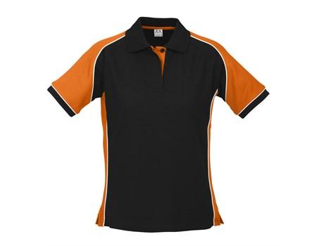 Biz Collection Ladies Nitro Golf Shirt in Orange Code BIZ-3601