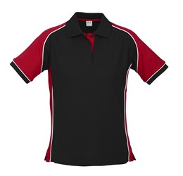 Golfers - Ladies Nitro Golf Shirt  Red Only