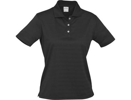 Biz Collection Ladies Icon Golf Shirt in Black Code BIZ-3603