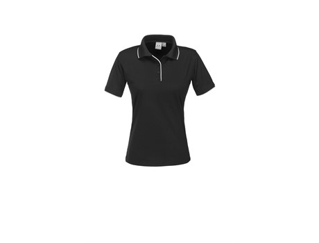 Biz Collection Ladies Elite Golf Shirt in black Code BIZ-3605