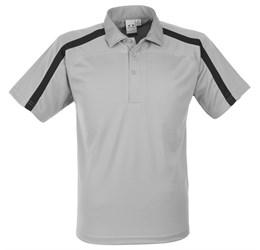 Golfers - Mens Monte Carlo Golf Shirt  Grey Only