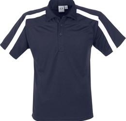 Golfers - Mens Monte Carlo Golf Shirt  Navy Only