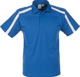 Golfers - Mens Monte Carlo Golf Shirt  Royal Blue Only