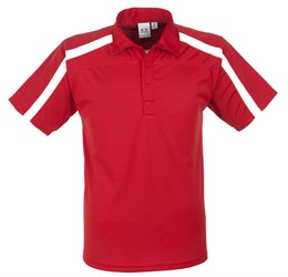 Golfers - Mens Monte Carlo Golf Shirt  Red Only
