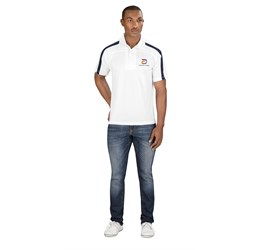 Golfers - Mens Monte Carlo Golf Shirt White Only