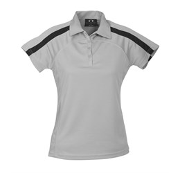 Golfers - Ladies Monte Carlo Golf Shirt  Grey Only