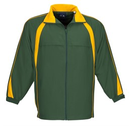 Splice Unisex Track Top  Green Gold Only