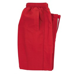 Splice Unisex Track Bottoms  Red Only