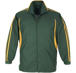 Flash Unisex Track Top  Green Gold Only