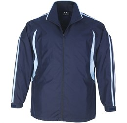 Flash Unisex Track Top  Navy With Light Blue Only