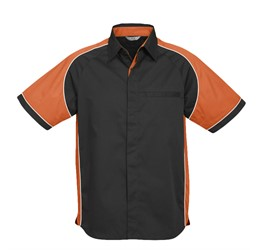 Mens Nitro Pitt Shirt  Orange Only