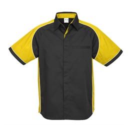 Mens Nitro Pitt Shirt  Yellow Only