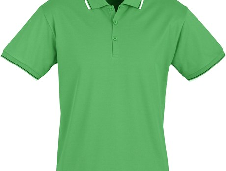 Biz Collection Mens Cambridge Golf Shirt in Green Code BIZ-4854