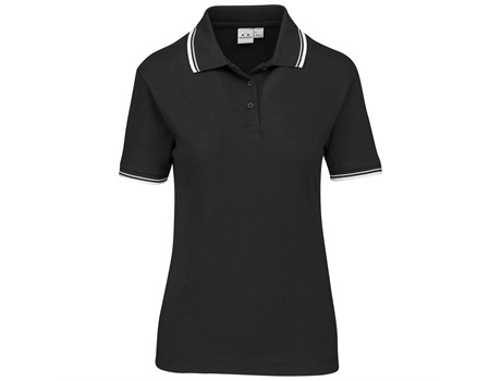 Biz Collection Cambridge Ladies Golf Shirt in black Code BIZ-4855