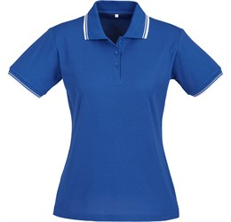 Golfers - Ladies Cambridge Golf Shirt  Royal Blue Only
