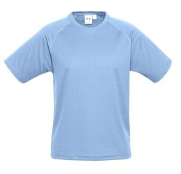 Mens Sprint TShirt  Light Blue Only