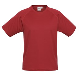 Mens Sprint TShirt  Red Only