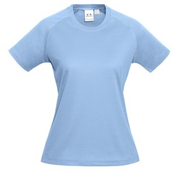 Ladies Sprint TShirt  Light Blue Only