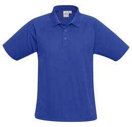 Golfers - Kids Sprint Golf Shirt  Blue Only