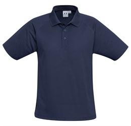 Golfers - Kids Sprint Golf Shirt  Navy Only