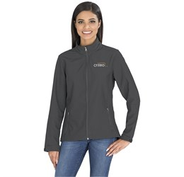 Ladies Pinnacle Softshell Jacket