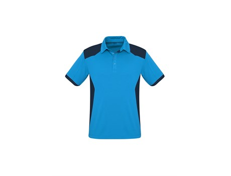Biz Collection Mens Rival Golf Shirt in Blue Code BIZ-9800