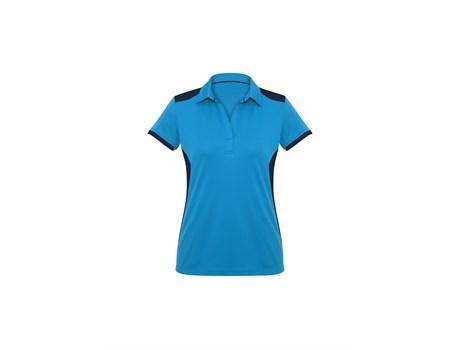 Biz Collection Ladies Rival Golf Shirt in blue Code BIZ-9801