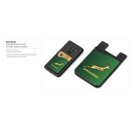 Springbok Arcade Phone Card Holder