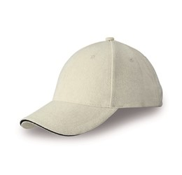 Conquest Heavy Brushed Cotton 6 Panel Cap  Ntn Only