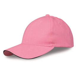 Conquest Heavy Brushed Cotton 6 Panel Cap  Pink Only