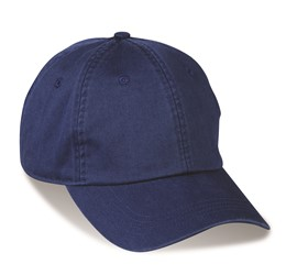 Boardwalk 6 Panel Cap  Blue  Blue Only