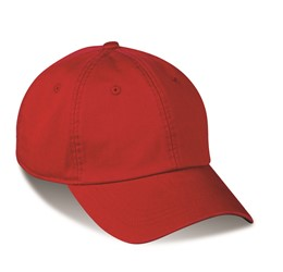 Boardwalk 6 Panel Cap  Red  Red Only