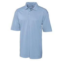 Mens Genre Golf Shirt  Light Blue Only