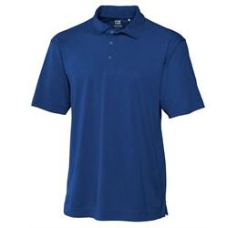 Mens Genre Golf Shirt  Royal Blue Only