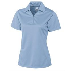 Ladies Genre Golf Shirt  Light Blue Only