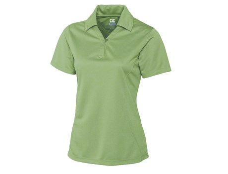 Cutter and Buck Ladies Genre Golf Shirt in Lime Code CB-3551